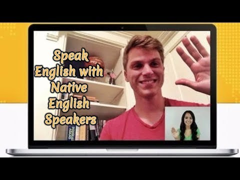 Speak English With Native English Speakers Through LIVE Video Chat! AR#2