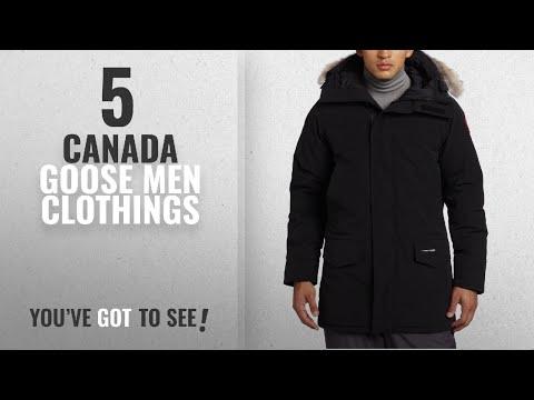 Top 10 Canada Goose Men Clothings [ Winter 2018 ]: Canada Goose Men's Langford Parka,Black,X-Large