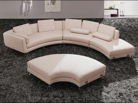 Round Sectional Sofas