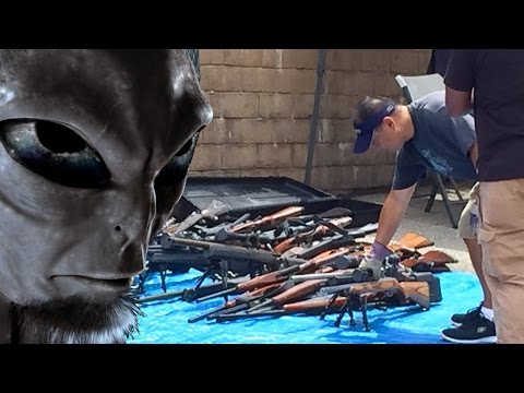 """Alien Human Hybrid"" Found Dead w/ Cash + Guns"