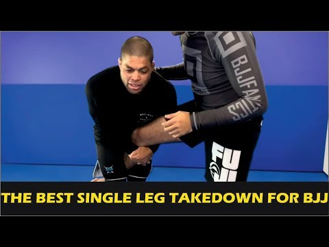The Best Single Leg Takedown For Brazilian Jiu Jitsu by Andre Galvao