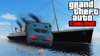GTA 5 - TOP 10 Challenge WINNER ! Epic boat stunt