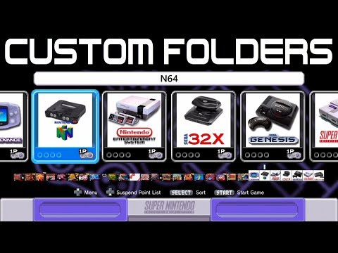 Make Custom Folders For Super Nintendo Classic Edition