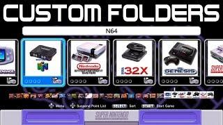 Make custom folders for Super Nintendo Classic Edition