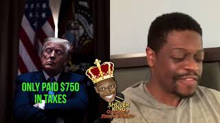 Shuler King - Donald Trump Paid $750 In Taxes!!!
