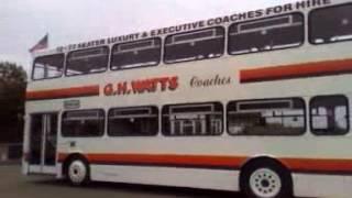 Ex Travel West Midlands MCW Metrobus MKI 2400 Leaving SHOWBUS