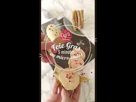 foie-gras-5-minutes-au-micro-ondes┃recette-du-chef-cyril-rouquet-prévost