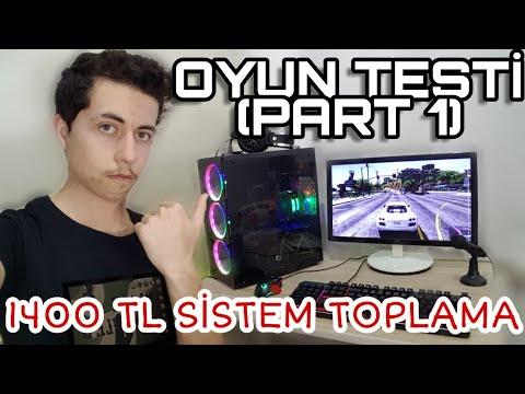 """1.400 Liralık Sistemin EFSANE Oyun Testi (PART 1) """"SİSTEMRE V1"""""""