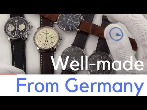 Five Best Selling Graf Zeppelin Watches Made In Germany Youtube