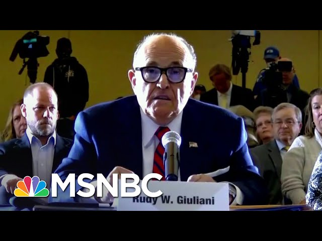 PA Lt. Governor To Trump Lawyer Giuliani: Where's The Voter Fraud? | The 11th Hour | MSNBC