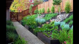 Unique Hillside Landscaping Design Ideas, Stylish Hillside Landscaping Design Ideas #1