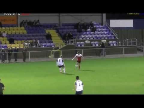 Havant & Waterlooville v Southsea Utd  PSC2 goals Oct 2014