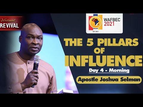 Download The 5 pillars of influence - Apostle Joshua Selman (2021)