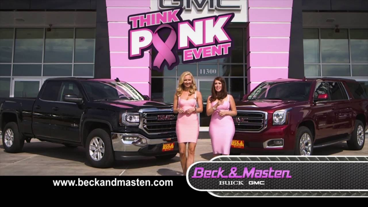 beck masten south sierra yukon think pink event youtube. Black Bedroom Furniture Sets. Home Design Ideas