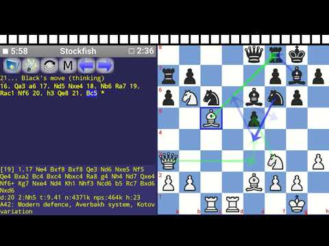 [RoCO#3] A42: Modern defence, Averbakh system, Kotov variation - Research of Chess Opening
