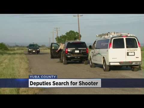 Yuba County Deputies Searching For Suspect In Shooting