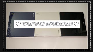 Unboxing ENHYPEN 2nd Mini Album 'Border: Carnival' [Up, Down & Hype Ver.] (Bias Wreckers Edition)
