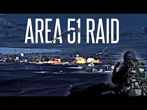 AREA 51 RAID!