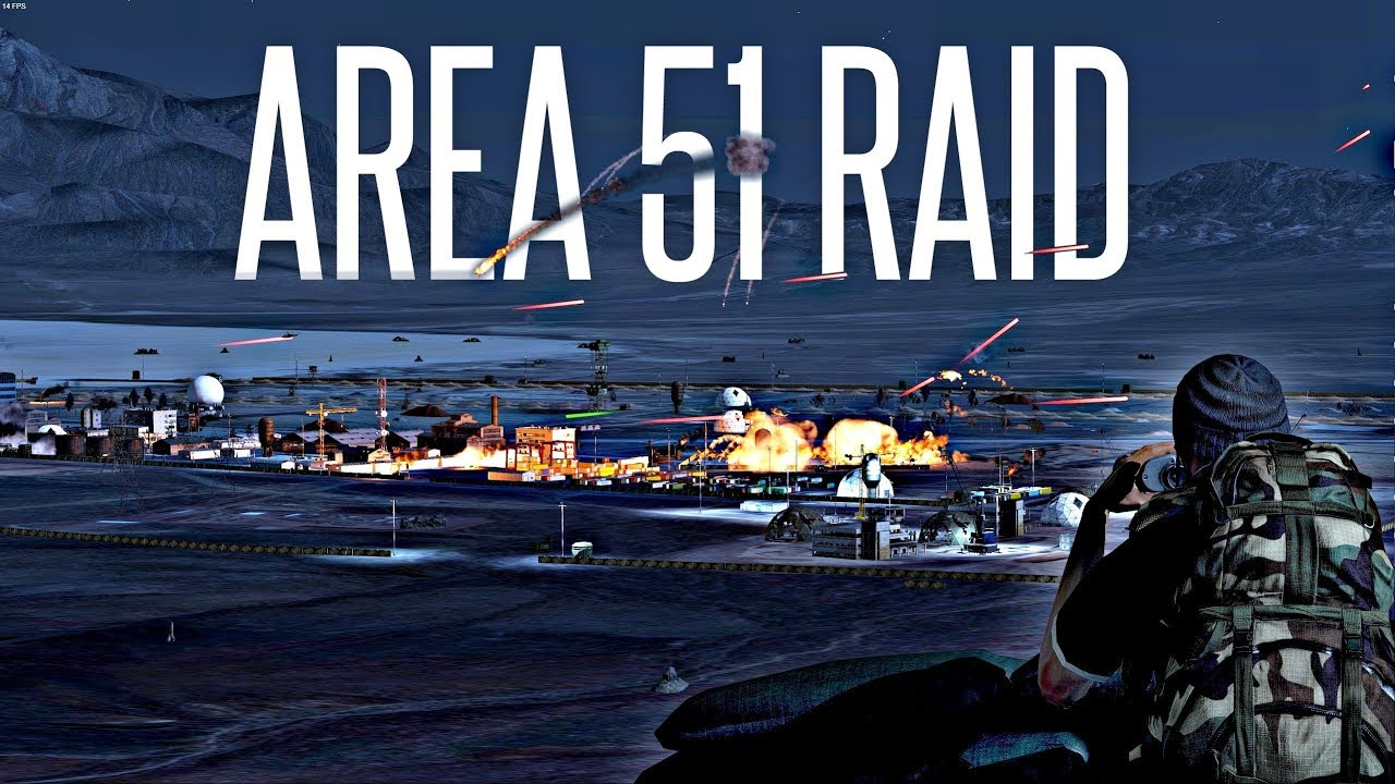 Arma 3 players stage a raid on Area 51 to 'see them aliens