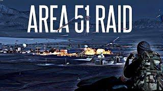 AREA 51 RAID! - ArmA 3 Insane PVP Event (they can