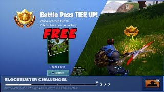 Fortnite Season 4 Week 2 Free Tier Blockbuster Challenge
