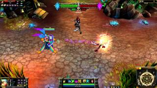 (OLD) Arcade Sona League of Legends Skin Spotlight