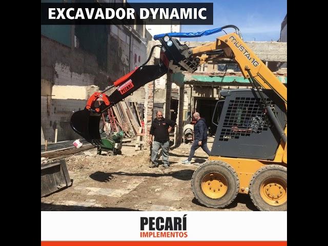 Excavador Dynamic - Septiembre 2019