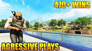 CoD BLACKOUT // NEW UPDATE // 469 WINS!! // 29% PC and PS4 W/L // CoD // BEST PS4