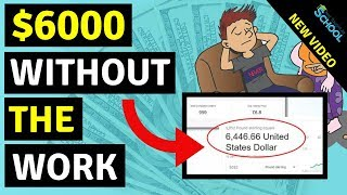 How To Make Money On Fiverr Without Doing Any Work - $6000 Example
