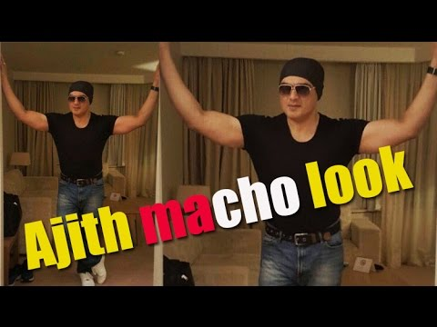 Ajith AK 57 macho look is a hit on the internet