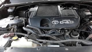 Таиота ланд крузер прадо дизель 120 кузов на горячий плоха заводитса