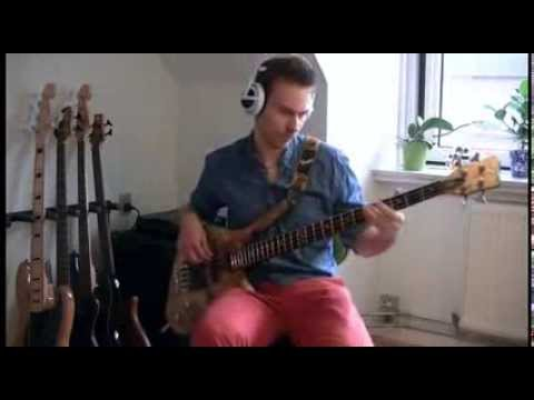 Shuffler - Hit Me With Your Rhythm Stick - bass cover