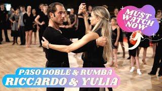 Riccardo Cocchi and Yulia Zagoruychenko | Paso Doble Chasse Cape & Rumba Walks