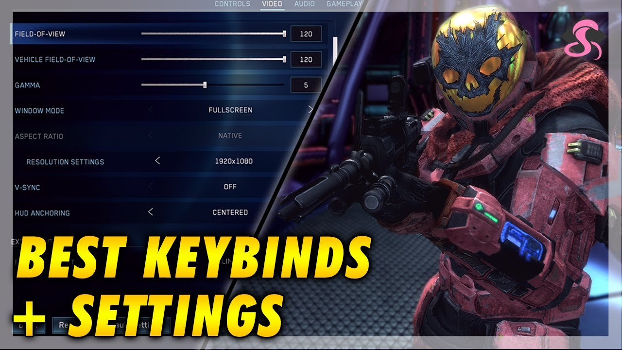 Best Halo Reach On Pc Keybinds And Settings Guide Halo Mcc