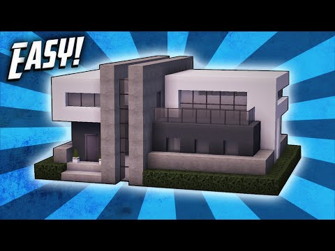 Minecraft: How To Build A Modern House Tutorial (#30)