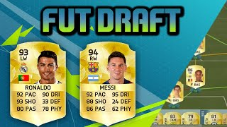 RONALDO + MESSI IN THE SAME TEAM = FUT DRAFT HEAVEN - FIFA 16