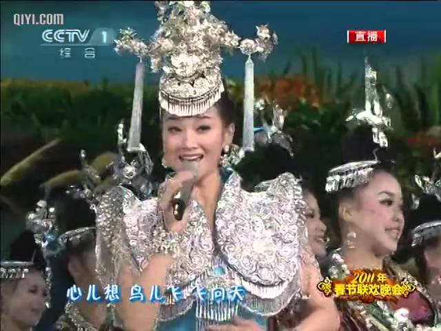 2011央视兔年春晚 宋祖英 《天蓝蓝》