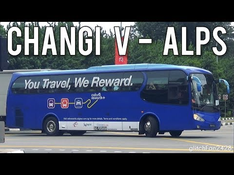 [ComfortDelGro] Loud ZF - PA6473J on Changi Village <—>ALPS Shuttle - Volvo B7R SC Chivalrous