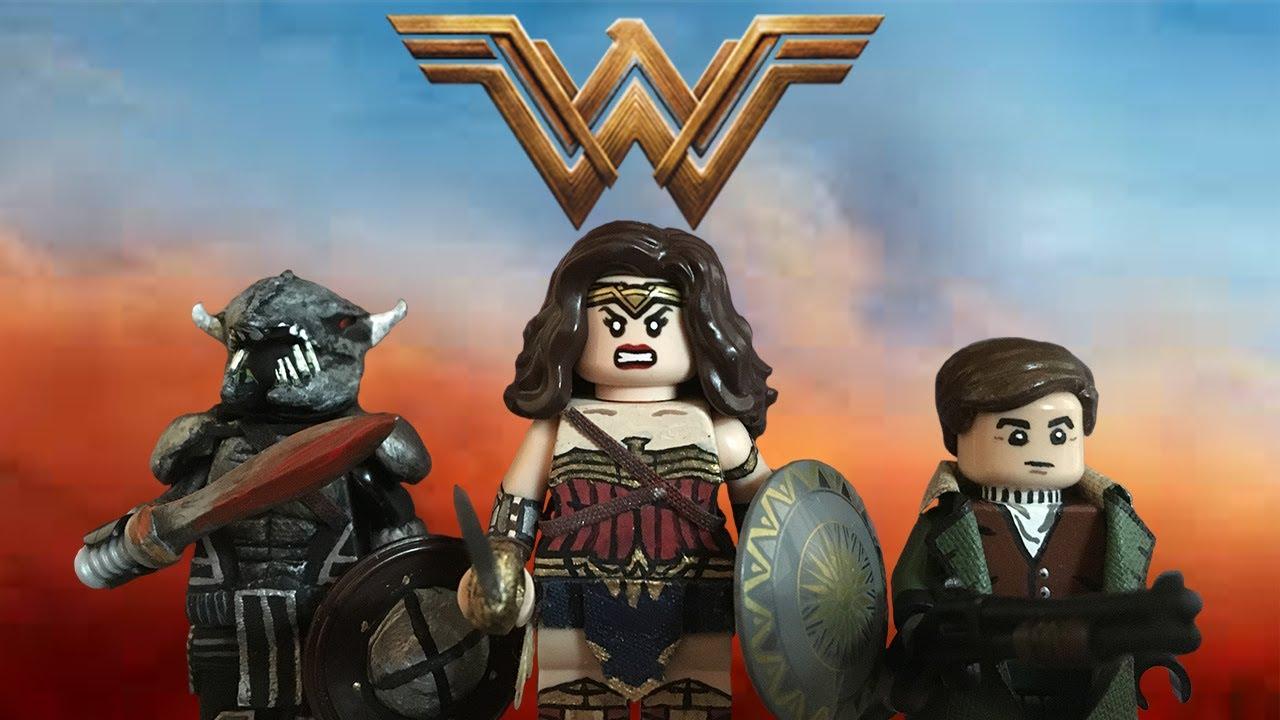 Lego Custom: WONDER WOMAN Showcase - YouTube