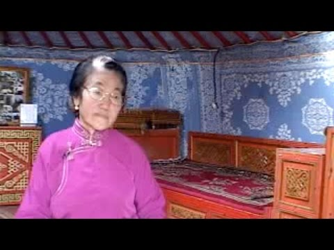 Mongolia, Interview with Old Woman Herder Pensioner (2000)