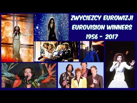 Wszyscy Zwycięzcy Eurowizji 1956 - 2017 | All The ESC Winners 1956 - 2017