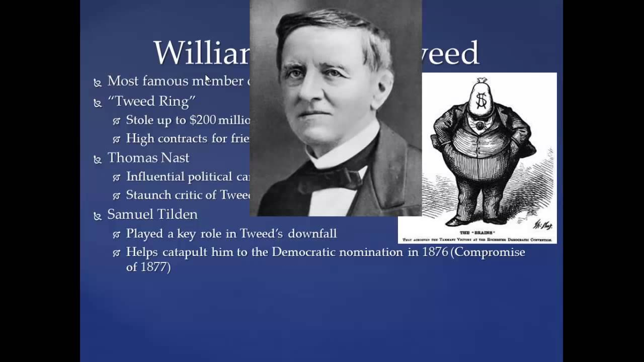 Apush Review Tammany Hall And Boss Tweed