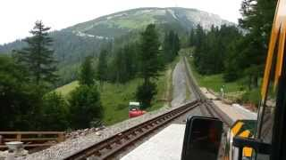 Schneebergbahn/hegymenet