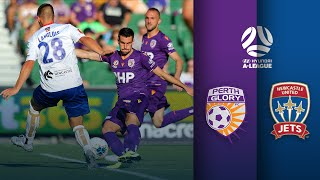 Perth Glory vs Newcastle Jets Highlights | A-League Round 11