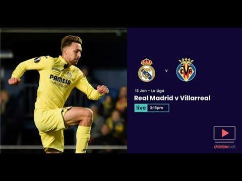 Real madrid vs villarreal live stream spanish la liga 2018 match