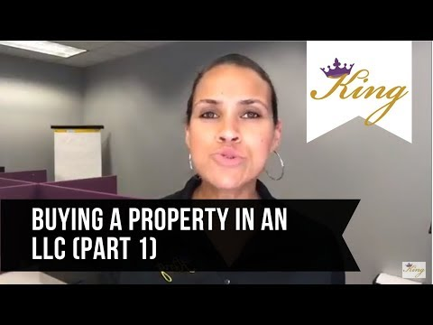 Buying rental property in an LLC (Part 1)