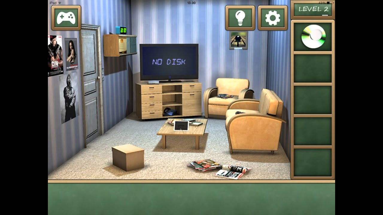 Escape from the room with the device walkthrough solution cheats - High School Escape Level 2 Walkthrough