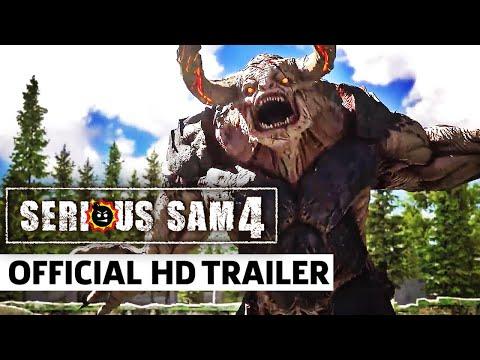 Serious Sam 4 - Official Gameplay Update Trailer