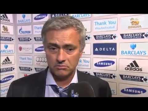 Jose Mourinho's reaction after Chelsea beat Aston Villa 2.1