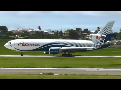 Grantley Adams Int. Airport Barbados - Takeoffs